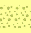 virus seamless pattern healthcare and medical vector image