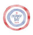 we will never forget 911 patriot day background vector image
