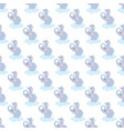 adorable elephant seamless pattern vector image vector image