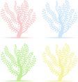 art trees vector image vector image