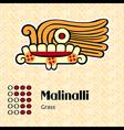 Aztec symbol Malinalli vector image vector image