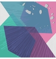 Background with Abstract Poly Geometrical Colorful vector image