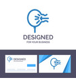 creative business card and logo template air vector image vector image