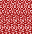 Love graphics pattern vector image vector image