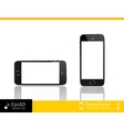Modern smart phone isolation vector image