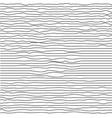 modern trendy minimal waves seamless pattern vector image vector image