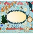 scrapbooking luxury set for Christmas vector image