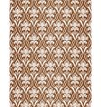 brown wallpaper pattern vector image vector image