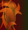 Colorful flower isolated abstract background autum vector image vector image