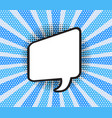 comic speech bubble of talk vector image vector image
