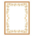 frame card vector image