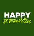 happy st patricks day background vector image vector image