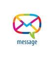 logo mail vector image vector image