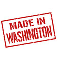 made in washington stamp vector image vector image