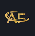 modern af logo design for business and company