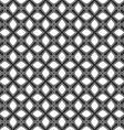 Seamless pattern from crosses Endless geometric vector image vector image