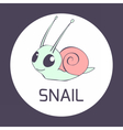 snail5 vector image vector image