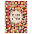 316retro multicolor template design vector image vector image