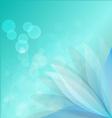 bule lotus vector image vector image