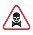 Danger vector image