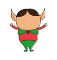 elf christmas related icon image vector image vector image