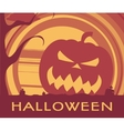Halloween holiday poster vector image vector image