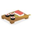 Japan culture design vector image