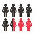 teamwork women vector image