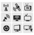 tv screens set vector image vector image