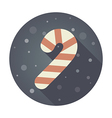 Christmas Candy Cane flat icon