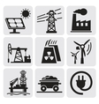 energy set vector image vector image