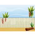 Garden Fence vector image