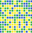 mosaic brazil background vector image