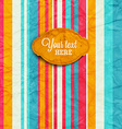 Paper Textured Background vector image vector image