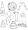 party collection vector image