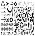 Strelice velika kolekcija resize vector image vector image