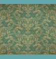vintage old wallpaper vector image