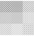 Simple Geometric Seamless Pattern Background vector image