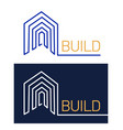 logo home vector image