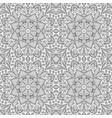 seamless pattern doodle ornament ethnic zentangl vector image
