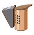 Beekeeping smoker icon cartoon style vector image vector image