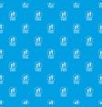 brazil pattern seamless blue vector image vector image