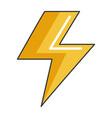 electric ray symbol icon vector image