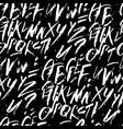 futuristic calligraphy alphabetic background vector image