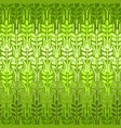 green wheat seamless pattern spring vector image