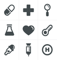 Medical Icons Set Design vector image vector image