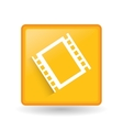 movie icon design vector image