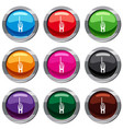 radio transmitter set 9 collection vector image vector image