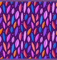 seamless pattern color leaves background vector image
