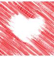 tire heart wallpaper vector image vector image
